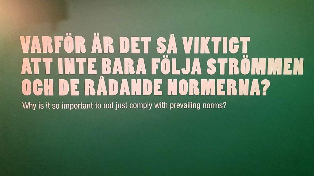 Om hatbrott på Polismuseet i Stockholm