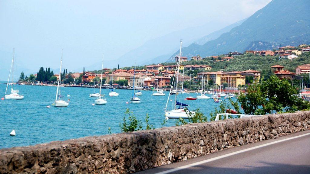 Riva del Garda i Italien