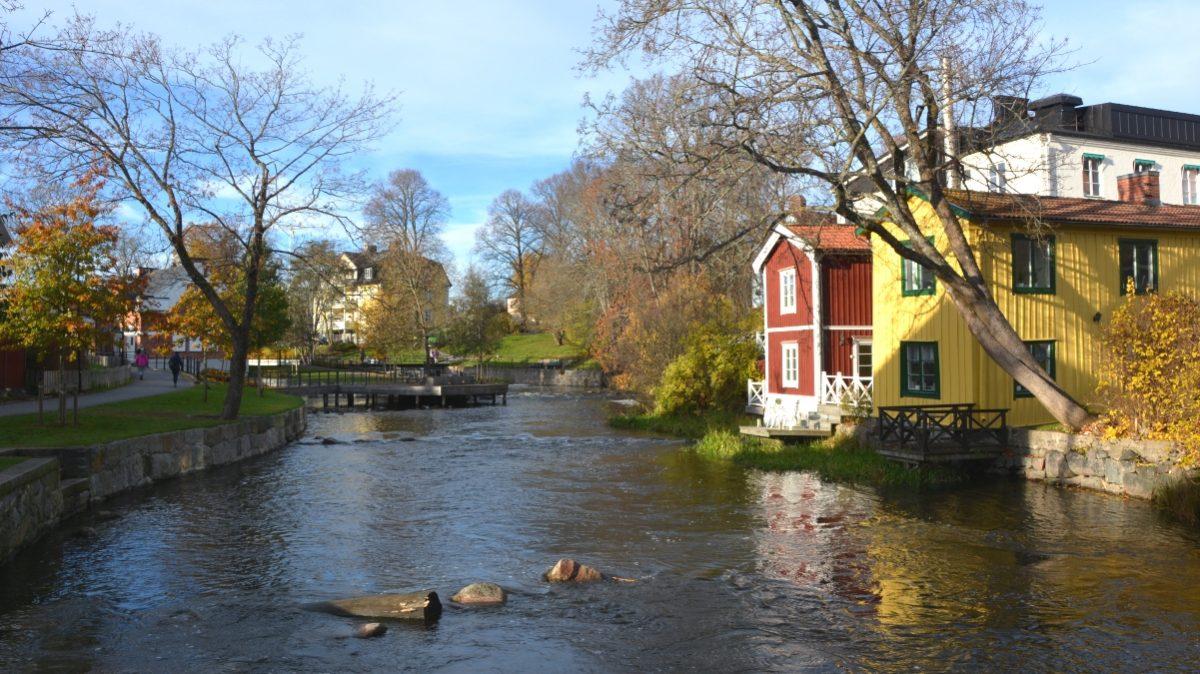 Norrtäljeån rinner genom Roslagens huvudstad