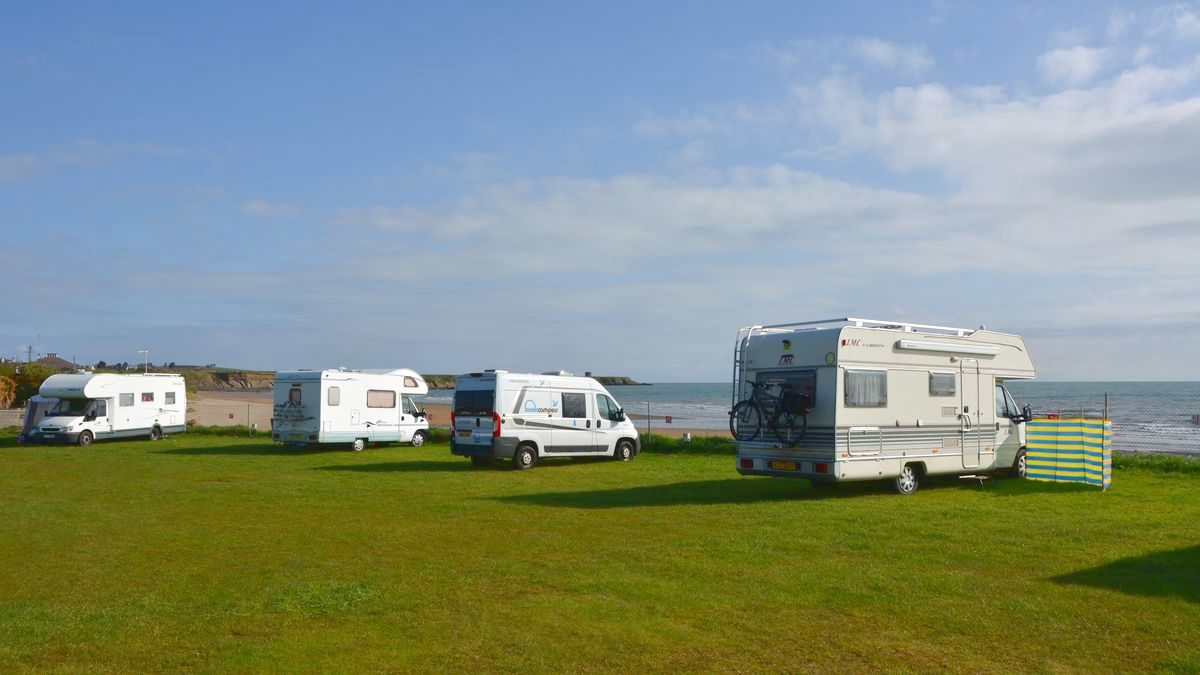 North beach camping Dublin
