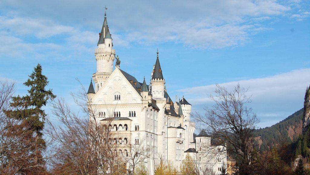 Neuschwanstein i Tyskland