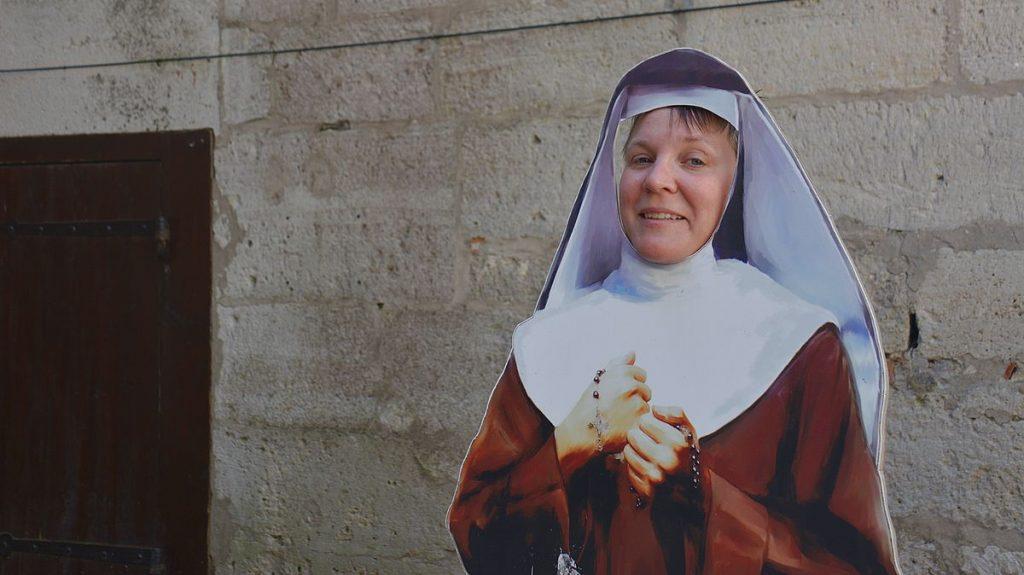 Nunna på Ösel i Estland