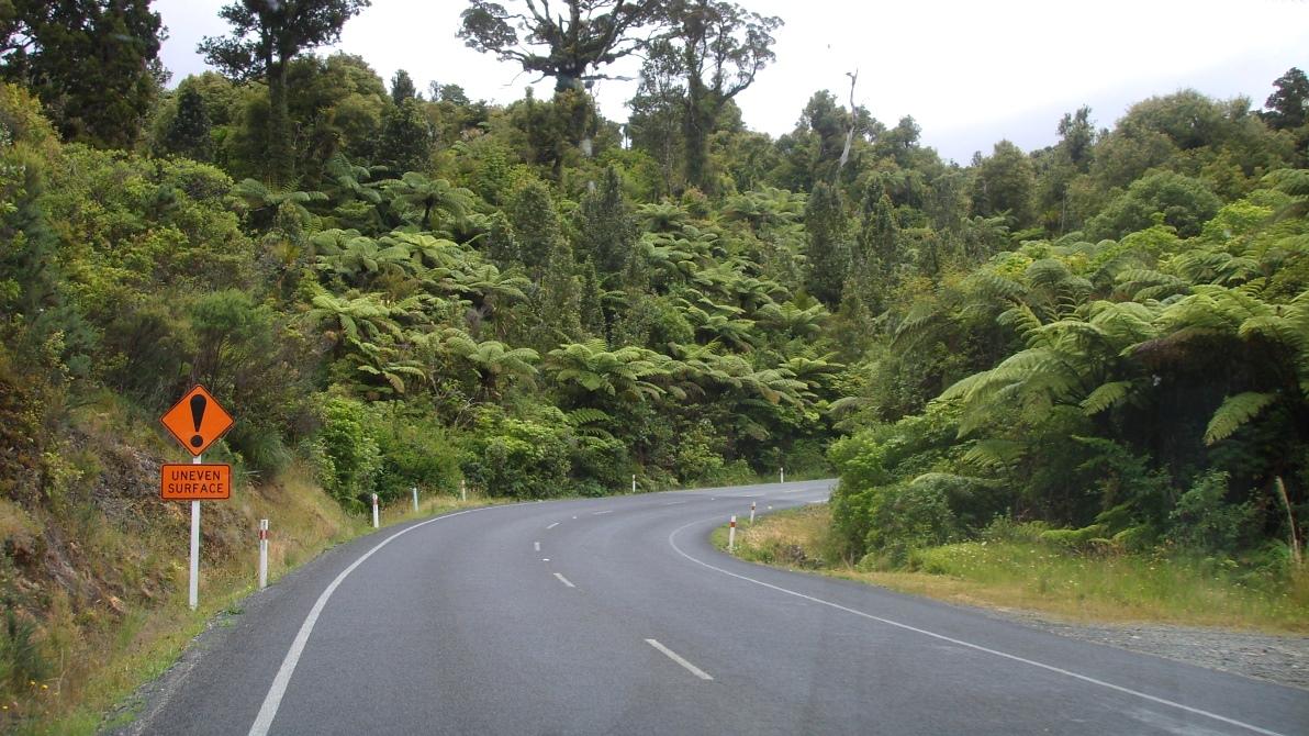 Nya Zeeland vägar
