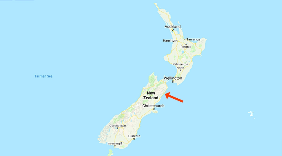 Nya Zeeland, Kaikoura