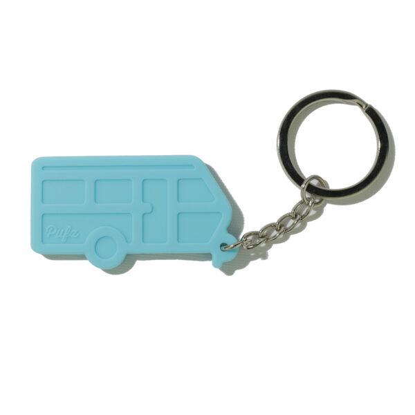 Nyckelring husvagn turkos