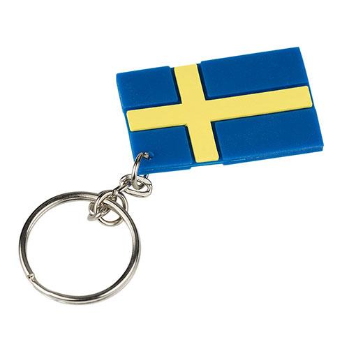 Nyckelring svenska flaggan