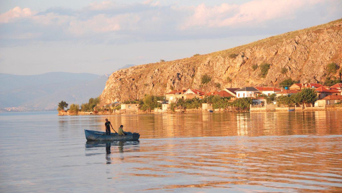 sjön Ohrid