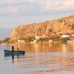Sjön Ohrid, Albanien