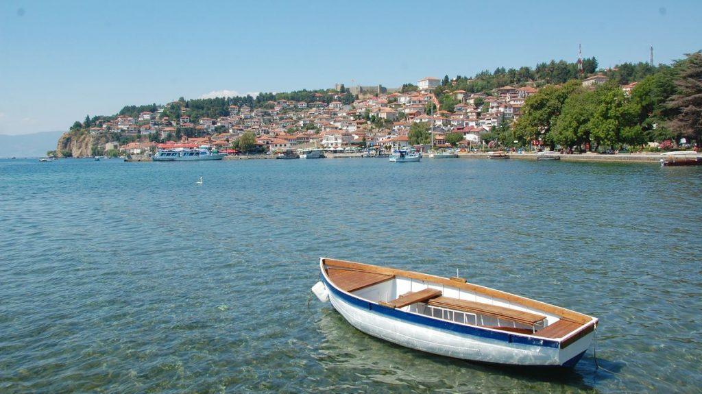 En härlig semesterstad i Makedonien!