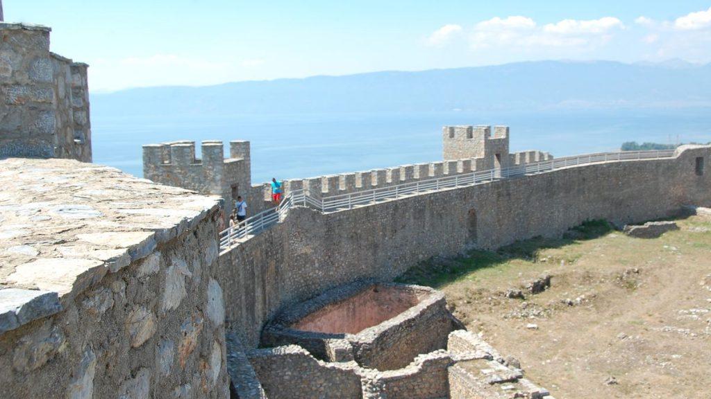 Ohrid gammal mur