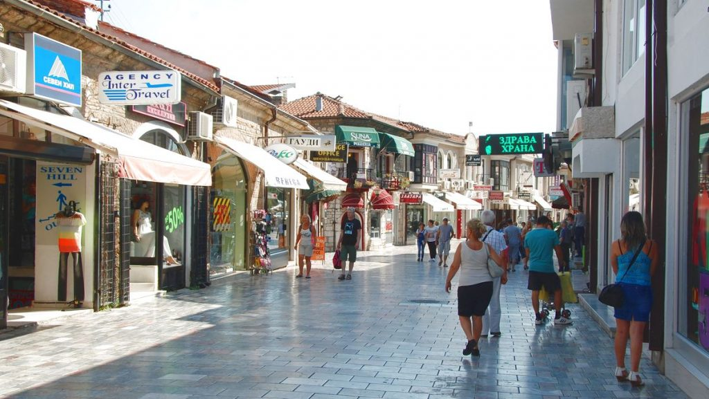 Ohrid shopping
