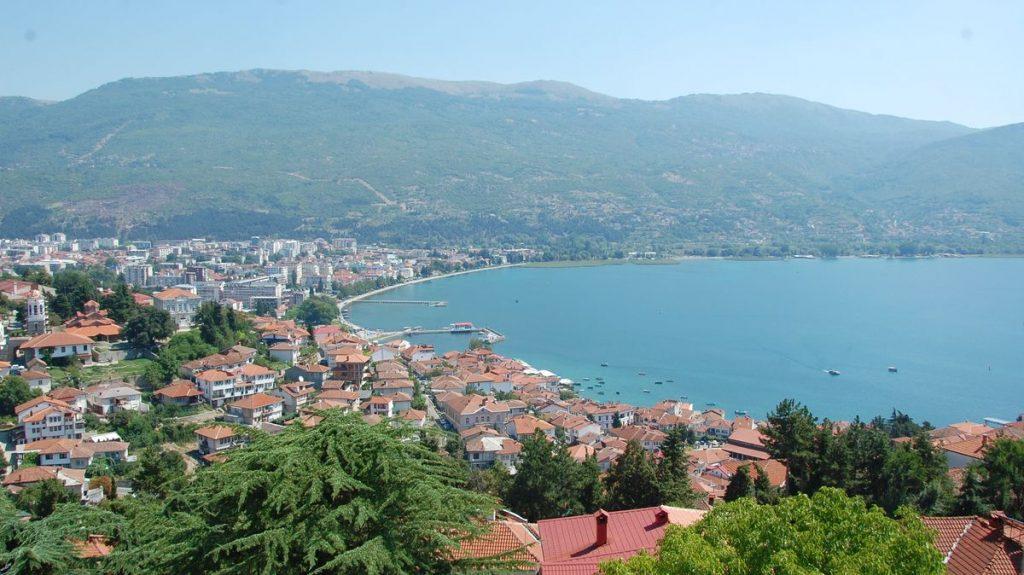 Ohrid utsikt