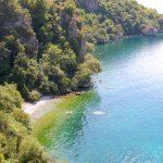 Vackra vägar runt Ohridsjön i Makedonien och Albanien