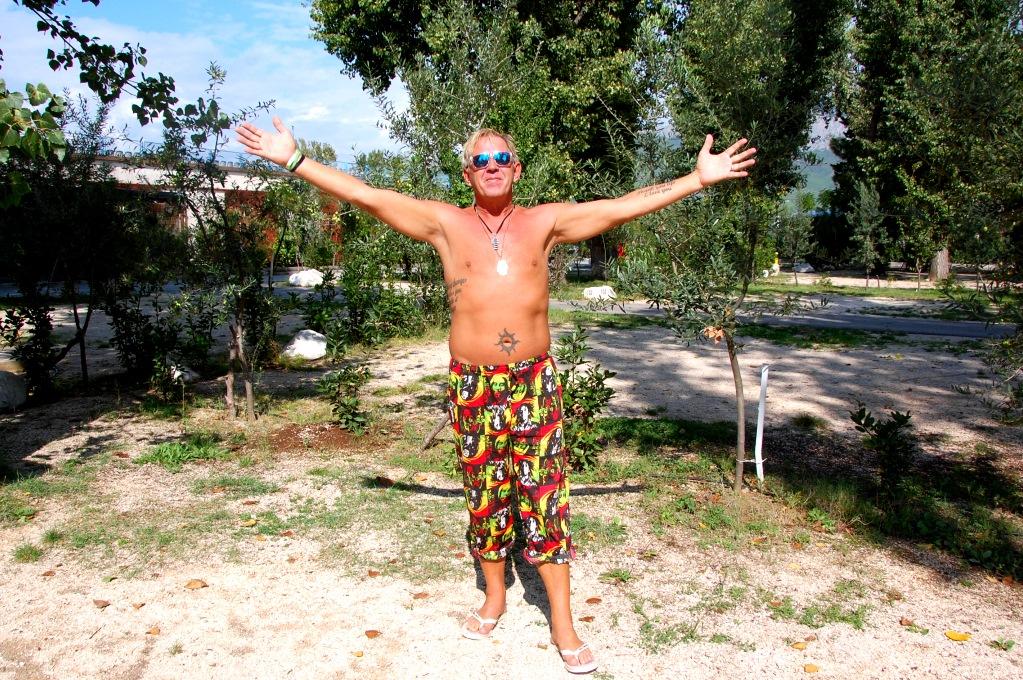 Campingliv i Kroatien: Vi har fortfarande varmt i Kroatien i oktober