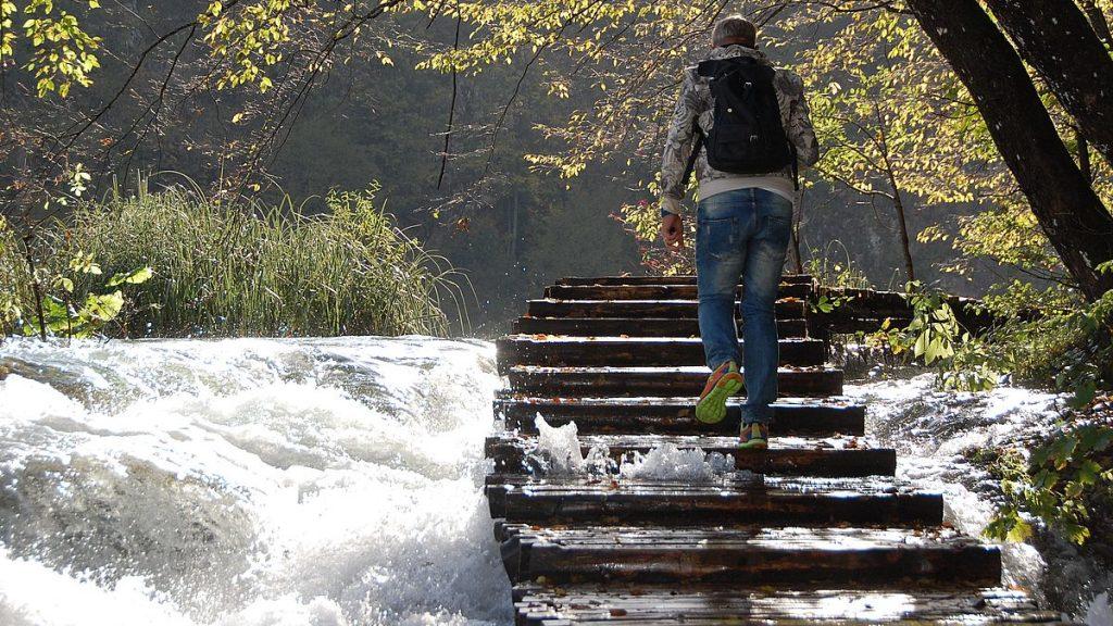 Peter i Plitvice national park