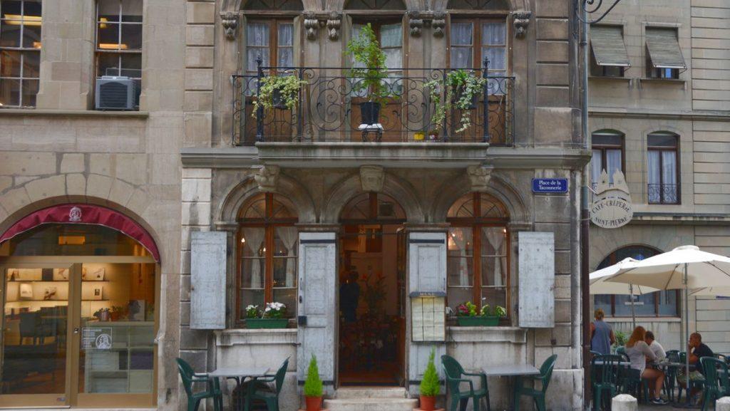 Old town gamla stan Geneve