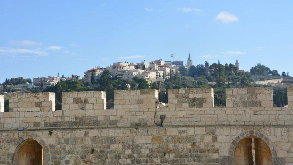 Olivberget, en av alla sevärdheter i Jerusalem
