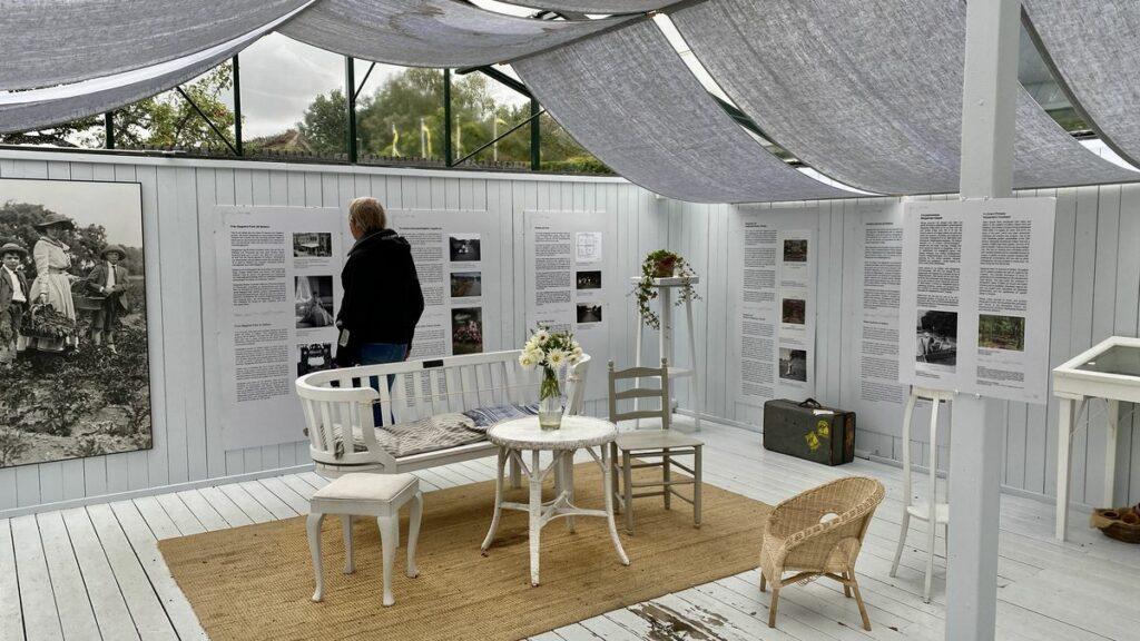 Sofiero slott och slottsträdgård - utställning om Margareta