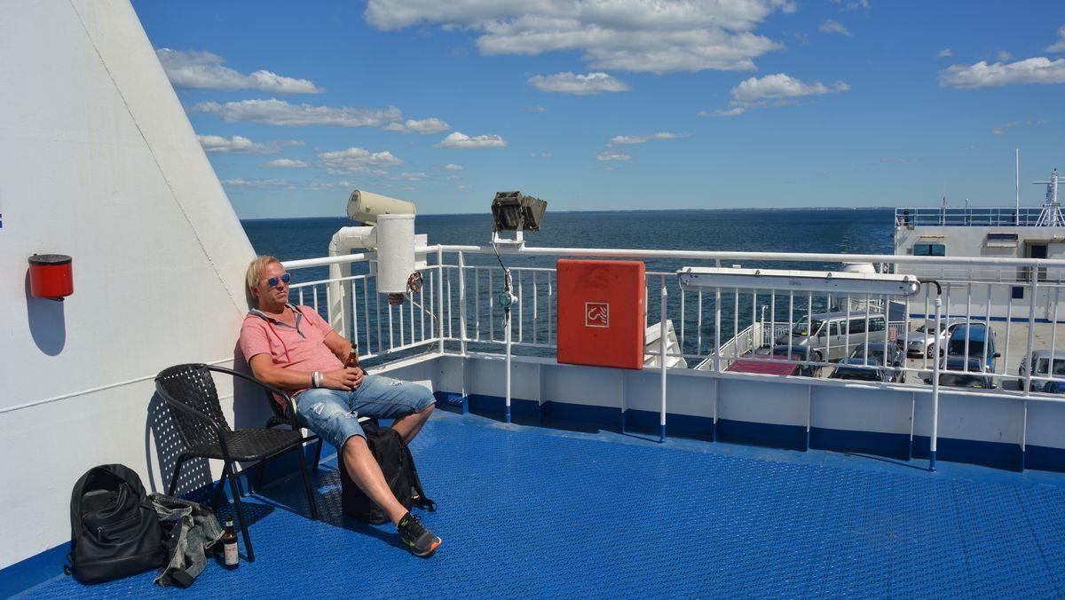 Freedomtravel ombord på StenaLine