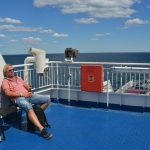 Med färja till Tyskland – framme vid kusten