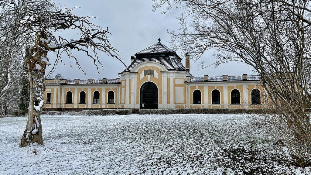 Orangeriet vid Nynäs slott