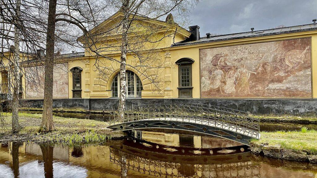 Finspångs slott - orangeriet