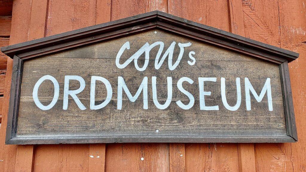 Ordmuseum på Vallby friluftsmuseum