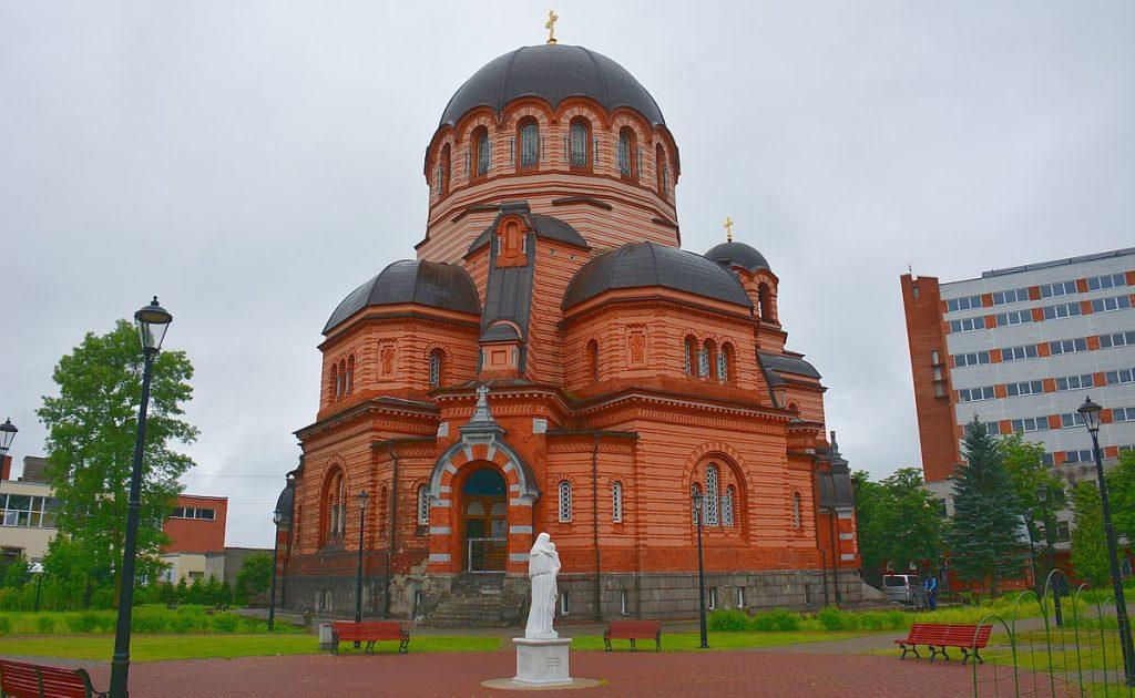 Voskresenskijkatedralen i Narva i Estland