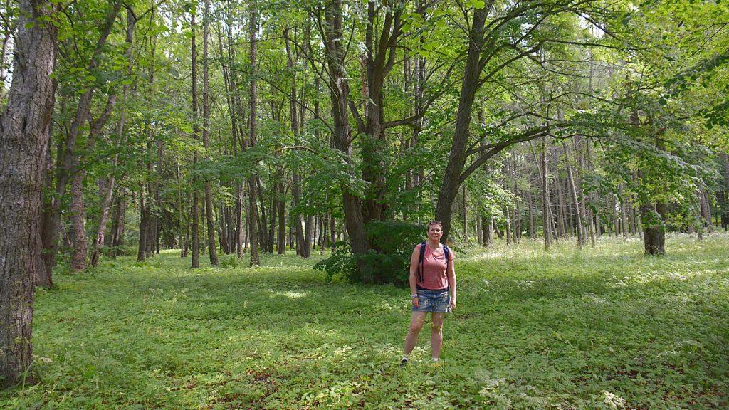 Helena i Oru Park i Estland