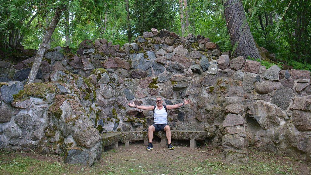 Grott i Oru Park i estland