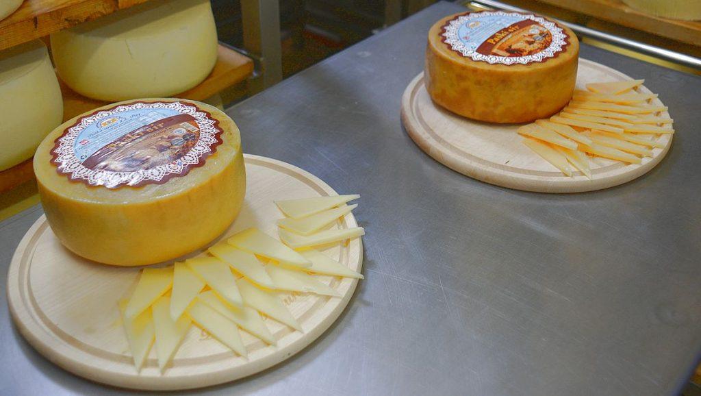 Paski sir på ön Pag i Kroatien