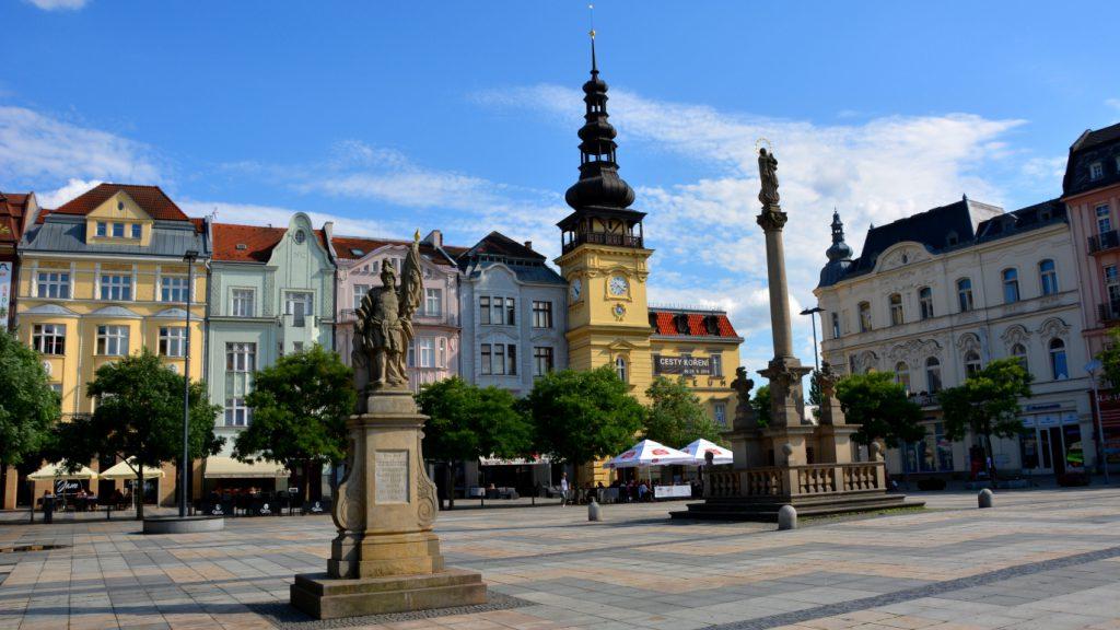 Från Stockholm till Ostrava