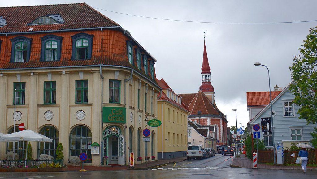 kyrka i Pärnu i Estland