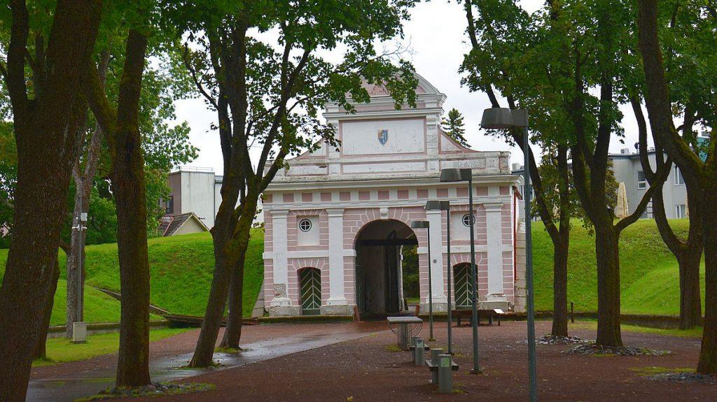Tallinn Gate i Pärnu i Estland