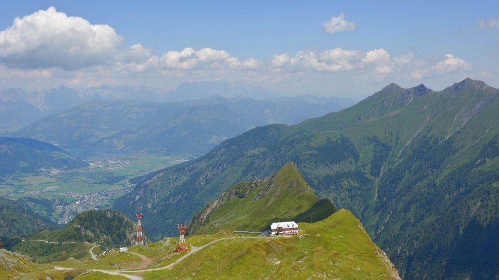På väg mot Kitzsteinhorn