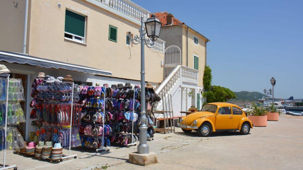 Pakostane i Kroatien