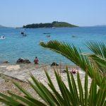 Pakoštane i Kroatien – och camping Kozarica