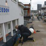 Nya fendrar – husbåten redo för höststormarna