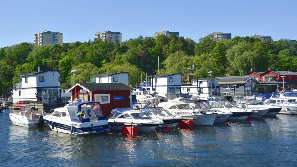 En lista om att resa i Sverige - Pampas marina