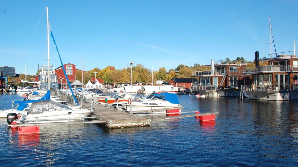 Pampas marina en fantastisk oktoberdag