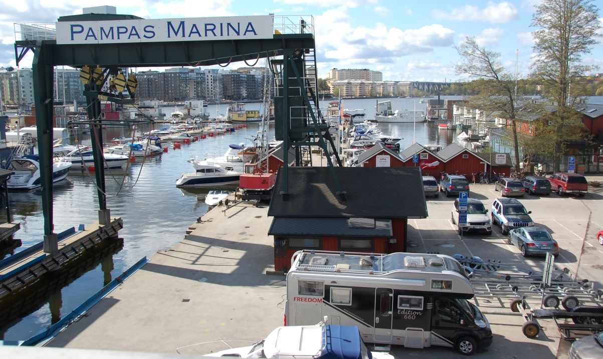 Pampas marina Stockholm
