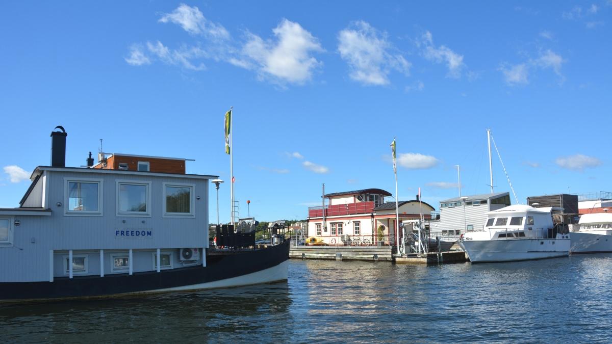 Pampas marina husbåt