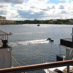 Festligheter i marinan – och utsikt från hög höjd