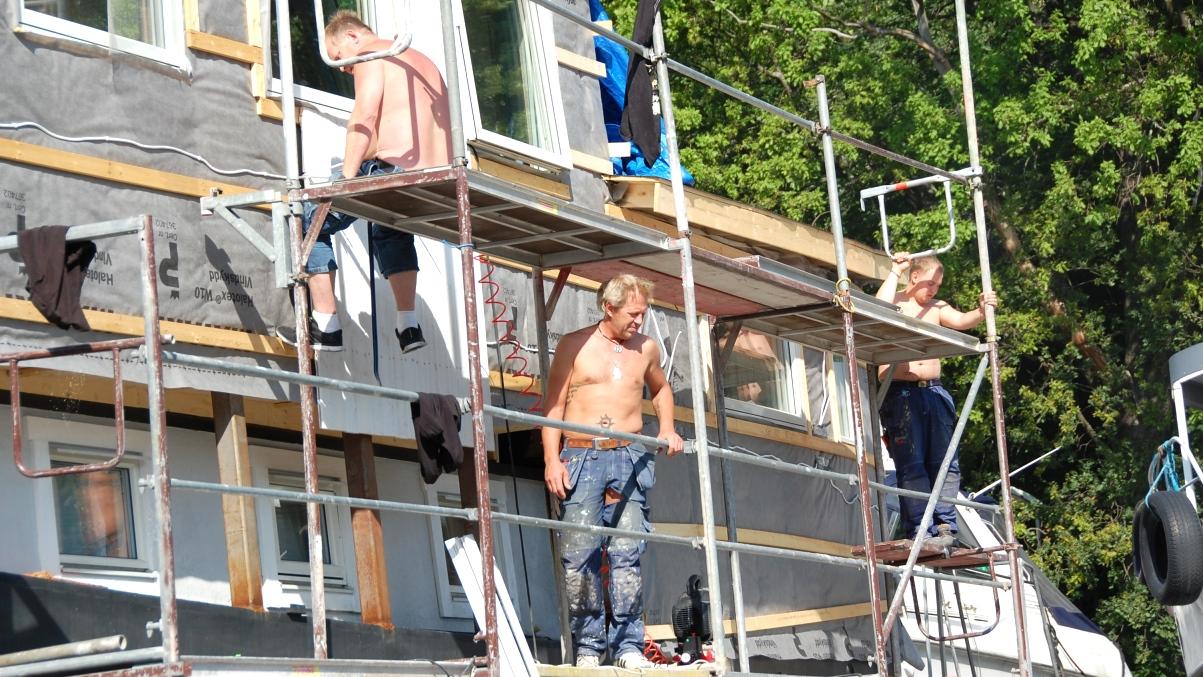 Panel husbåt