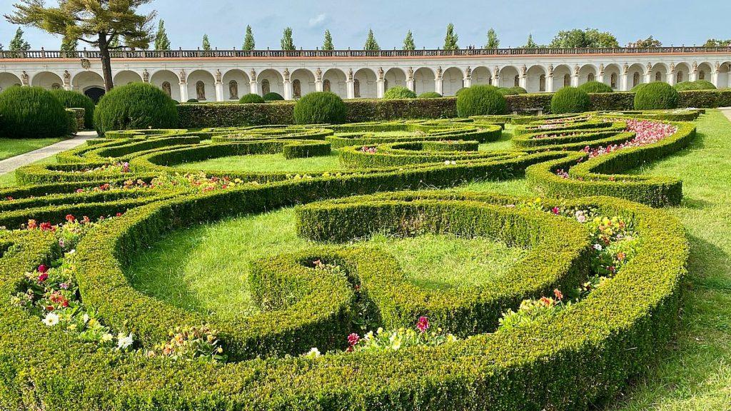 Kroměříž trädgårdar
