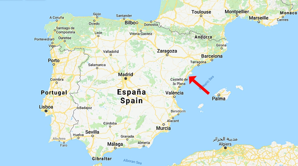 Spanien, Peniscola