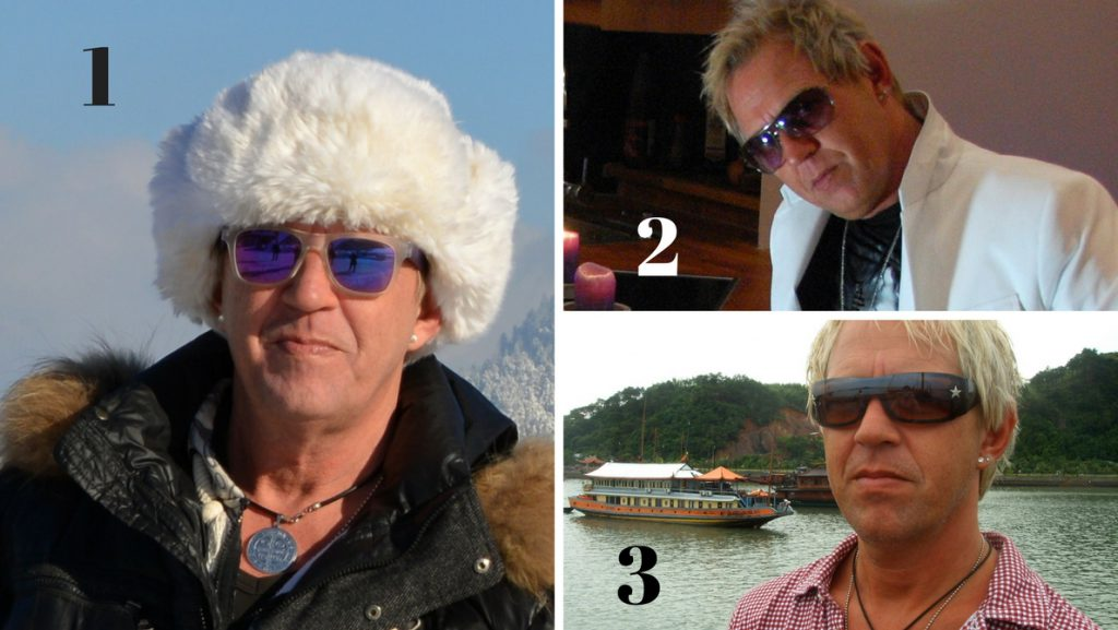 Peter olika solglasögon