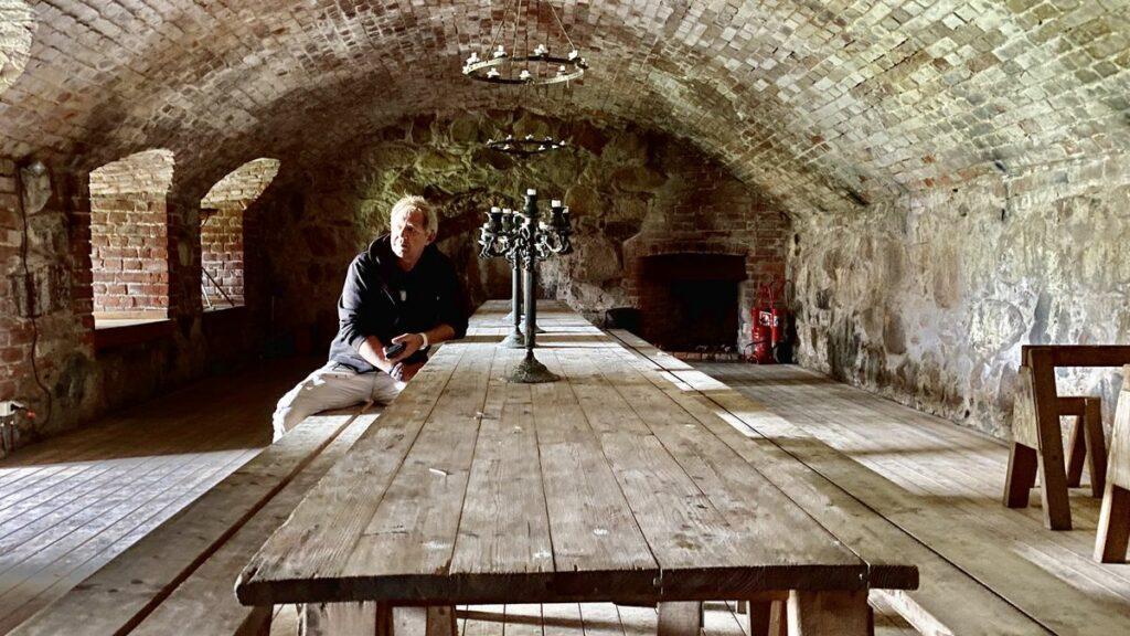 Peter vid kronobergs slottsruin