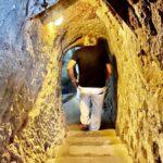 Den underjordiska staden i Derinkuyu, Turkiet