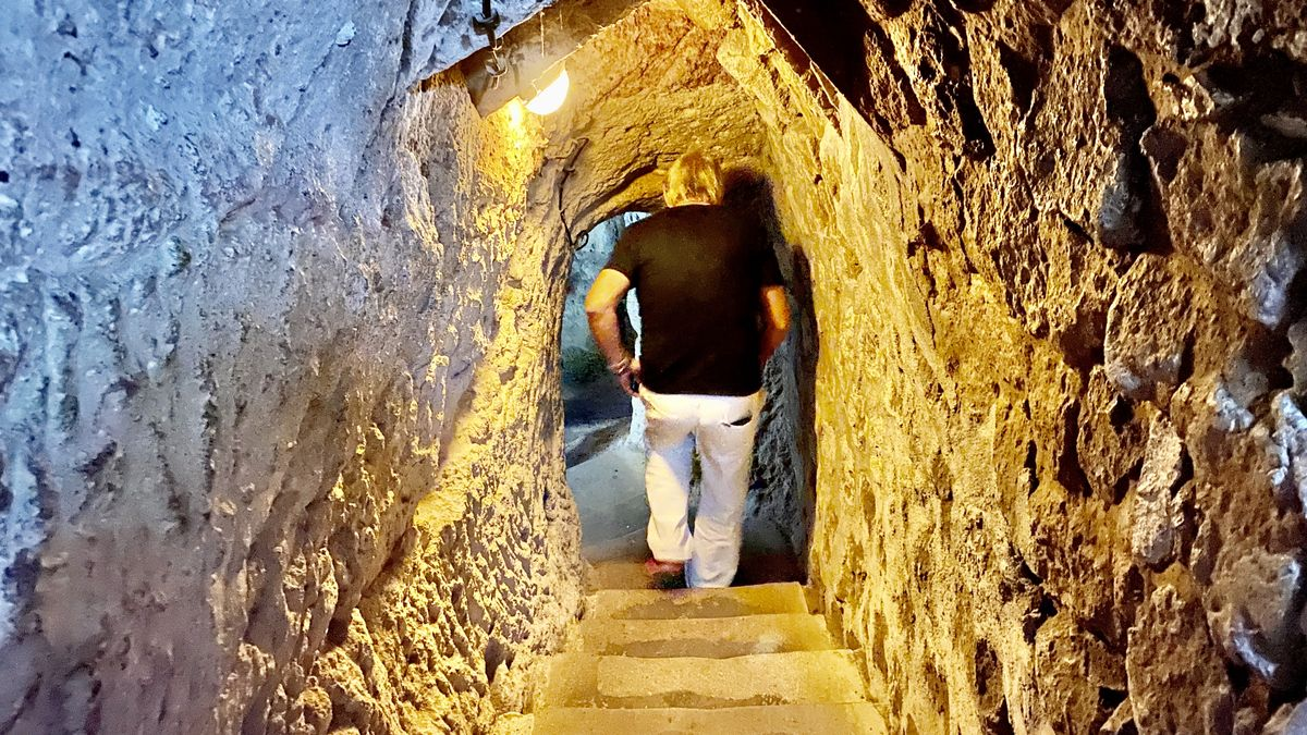 Den underjordiska staden i Derinkuyu